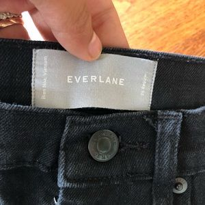 Everlane Jeans - Everlane black high waisted skinny jeans